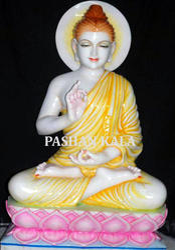 Colorful Buddha Statue