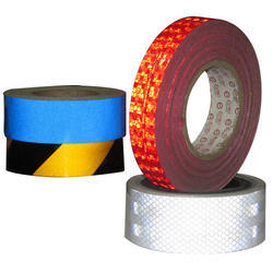 Red White Etc PVC Retro Reflective Tapes Size 1 Inch 2