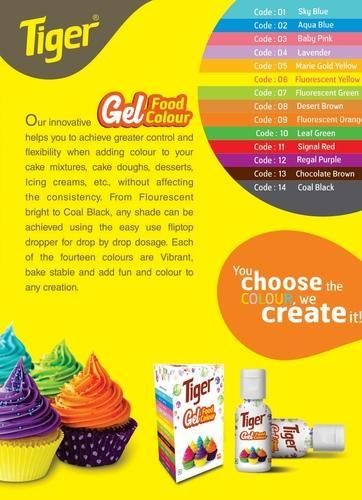 Food Colors - Gel Food Colour Manufacturer from Chennai
