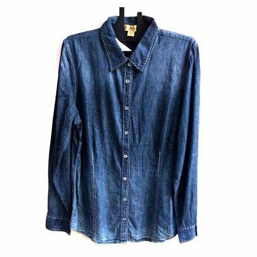 8a82b8a537 Girls Shirt - Girls Denim Shirt Wholesale Trader from Indore