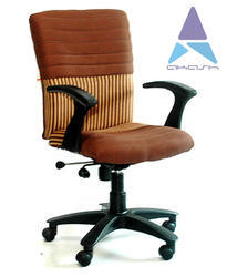 Royal Deluxe Cloth Revolving Chairs