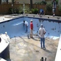Swimming pool waterproofing services in chennai for Swimming pool construction cost in chennai