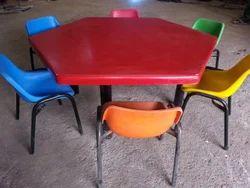Fiber Nursery Table & Chair Set