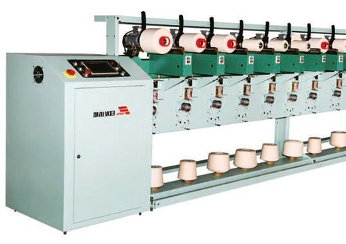 Precision Dye Package Winder with Electronic Traverse