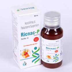 Aceclofenac 50 Mg, Paracetamol.125 Mg