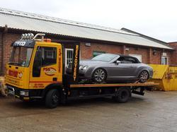 Recovery Vehicle Towing Van