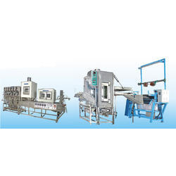 Continuous Dyeing Range Machine