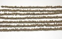 Natural Pyrite Cluster Chain