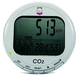 Co2 Carbon Dioxide Desktop Data Logger Monitor Indoor