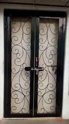 Wrought Iron Safety Door