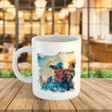 Personalized Photo Logo Printed Coffee Mugs Sublimation