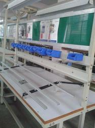 Double Side Manual PCB Insertion Line