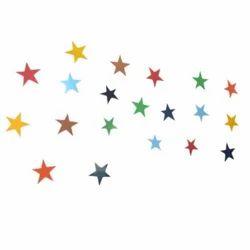 Woodennxt  Handicraft Wall Decor Stars Set Of 20