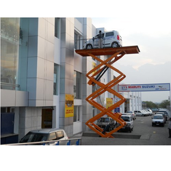 High Table Scissor Raised Lift