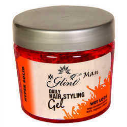 Glint Daily Hair Styling Gel Hypersolid for Men Wet Look