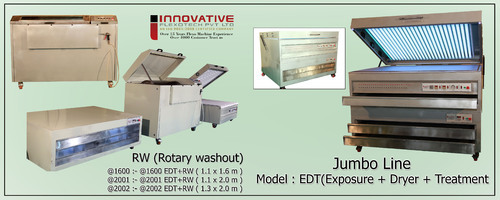 Photopolymer Plate Making Machine - Photopolymer Printing