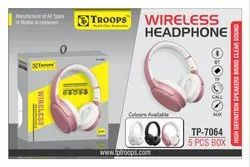 TROOPS TP-7064 WIRELESS BLUETOOTH HEADSET