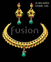 Ethnic Wedding Necklace Set