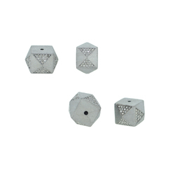 Square Shape Beads Findings Jewelry
