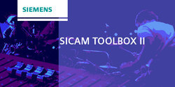 SICAM Toolbox II For Substation Automation