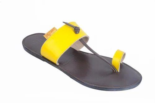 Colorful  Ladies Kolhapuri Slippers