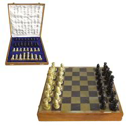 Marble Chess Board With Set
