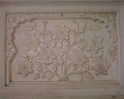 stone curved painting