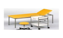 Examination Table With Side Table And Chair Clinic