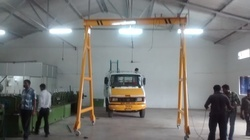 A Frame Crane