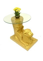 Lion Side Table Without Glass