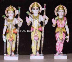Marble Ram Darbar God Statues