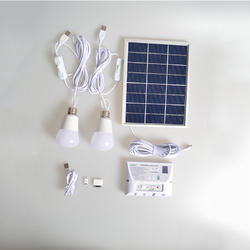 LED Solar Light  Bulbs Kit