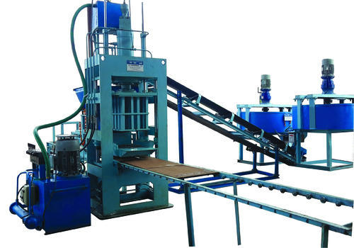 High Pressure Fly Ash Brick Making Machine (SVCBM- 8/6)