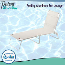 Folding Aluminum Sun Lounger