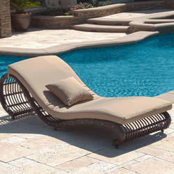 Rattan Pool Lounger