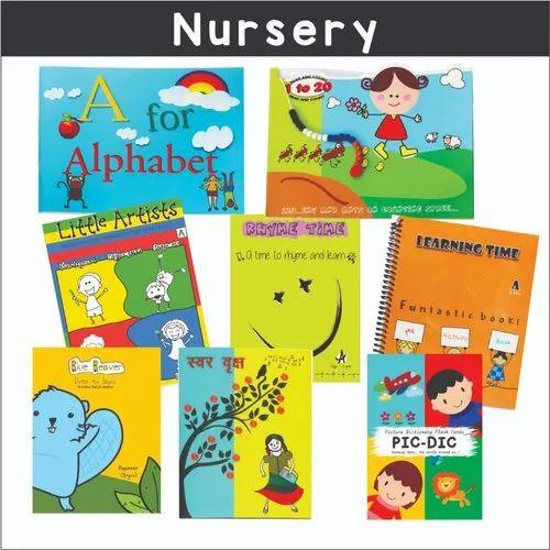 Nursery Book Set - Alphabet Book Manufacturer from Noida