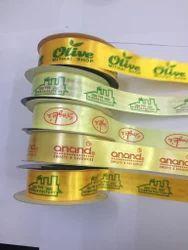 Customized Company Name Printed Ribbon
