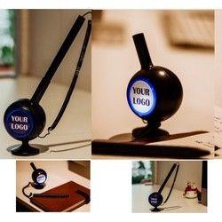 Quill - Desktop Pen With Light Up Logo Stand
