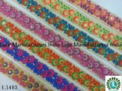 Exclusive Embroidery Lace E1483