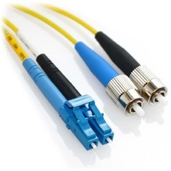 FC to LC Fiber Optic Patch Cable