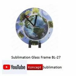 Sublimation Glass Frame BL 27