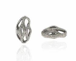 Uneven Shape Pave Diamond Findings