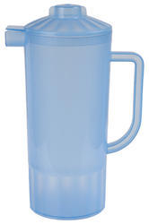 Sleek Water Jug With Glass
