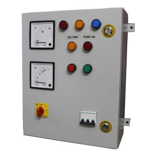 PLC Control Panels - 3 Phase Control Panel Manufacturer from Faridabad