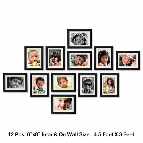 Multi Picture Frame Collage - 12 Pieces Multi Collage Service ...