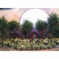 Dragon FRP Statue