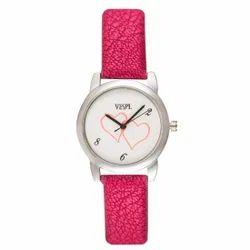 Vespl Analog Heart Women's Watch (VW6004)- Lo-Colors