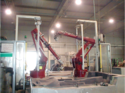Robotic Water Jet Cutting Systems
