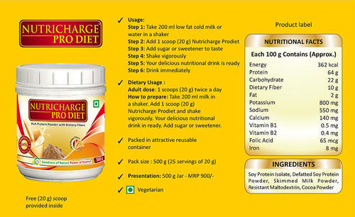 Nutrition Tablet Amp Powder Nutricharge Protein Powder