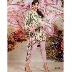 Cotton Designer Unstitched Suit